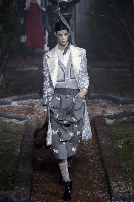 Deconstructed Jacket as Skirt