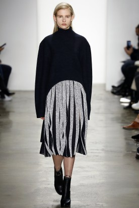 Pleats or Wide Fringing?