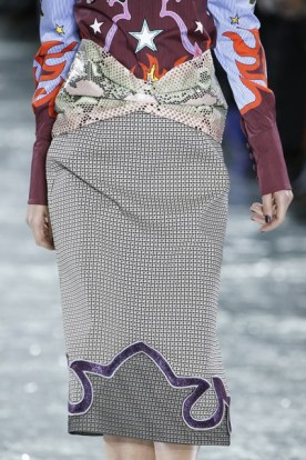 Risqué Combination of Fabrics