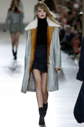 Quilted Lining, A New Take on the 'Grey Coat'