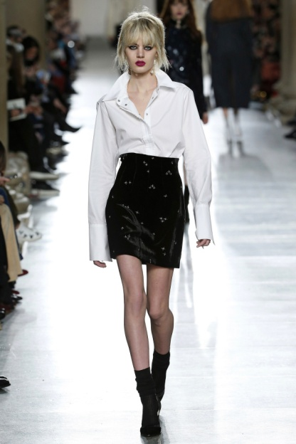 White Shirt and Skirt Combo Re-Invented