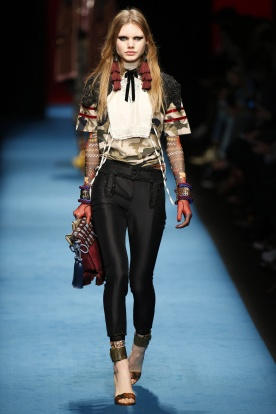 Victoriana Collar meets a Military, Velvet Trimmed Top