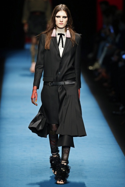 Boyish Tailoring with a Samurai Flair