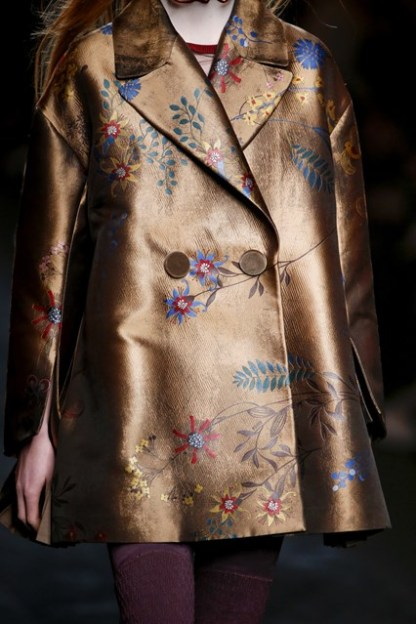 Coppery Jacquard Detail