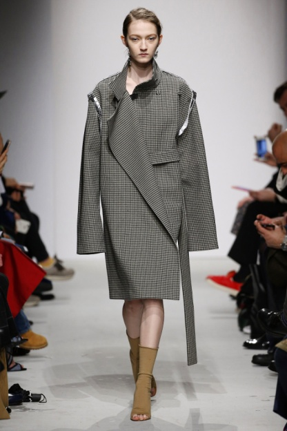 Asymmetric Oversized Coat