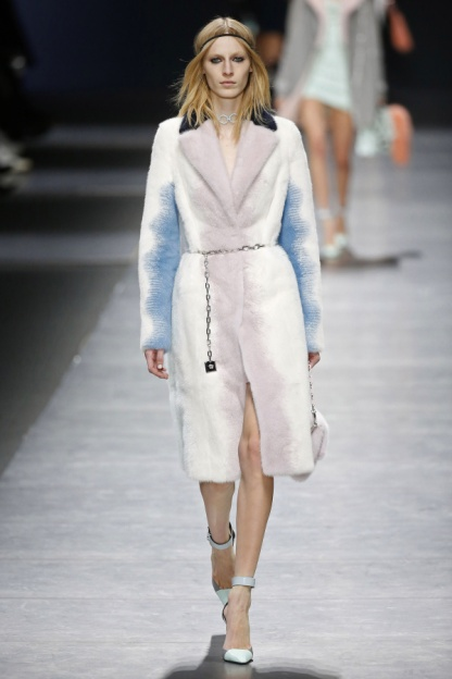 The Pastel Fur Coat