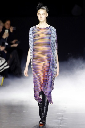 Sun-ray Stripes in the Collection's Simpler Looks