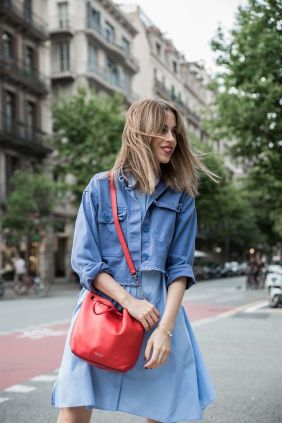 Shirting + Denim make easy wearing