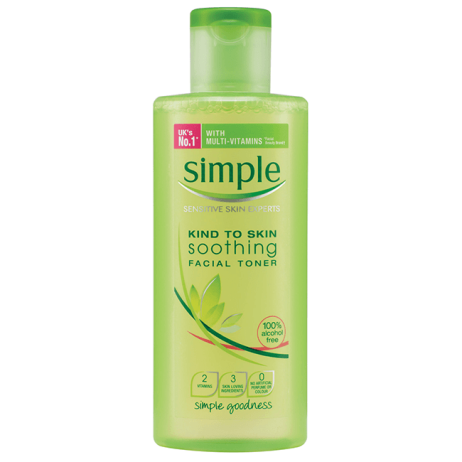 My favourite toner ever. Place in a spray bottle and spritz away when traveling!