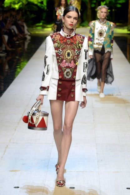 Dolce and Gabbana Look 1