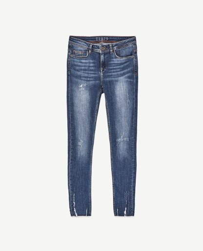 Mid-Rise Skinny in Organic Cotton