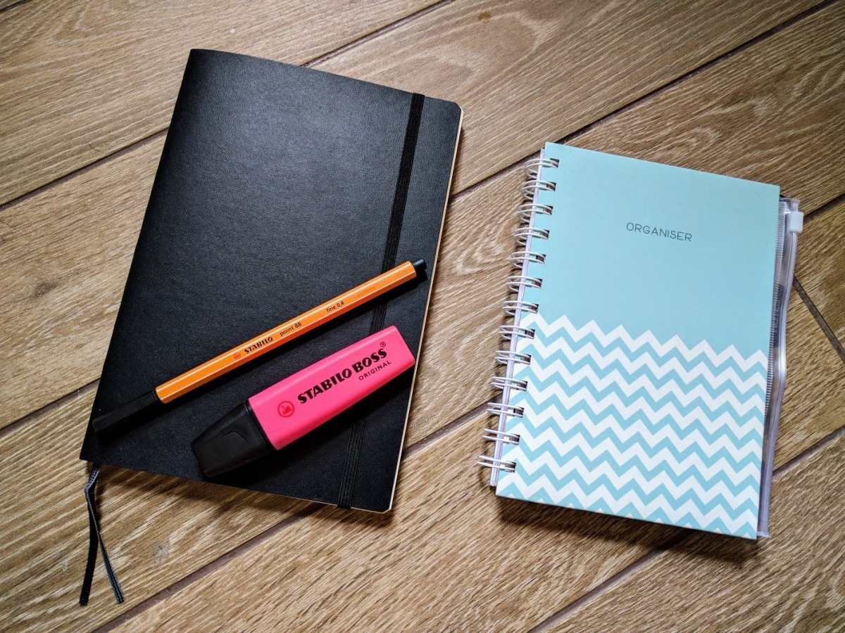 Starting my Bullet Journal +some tips